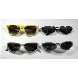 Collection of 4 pairs of vintage sunglasses