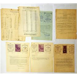 "Collection of documents from the institution ""Hachnasat Orchim and Beit Hatavshil Tiferet Zion and B"