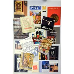 Collection of 20 Israeli art books and booklets