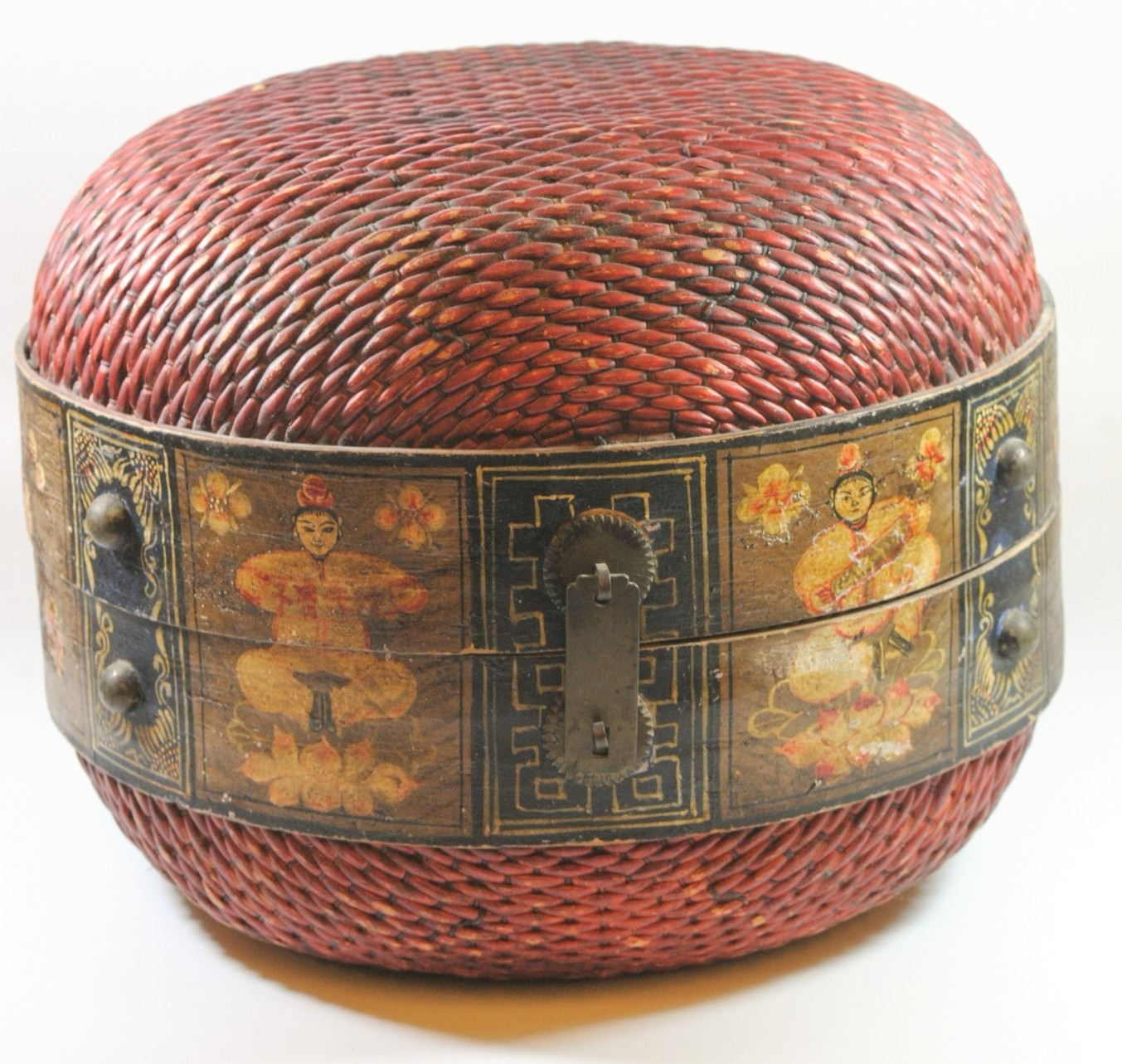 Superieur Image 1 : Old Chinese Storage Box ...