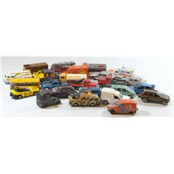 Collection of 24 different toy cars by Majorette