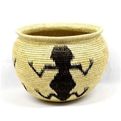 Beautiful Panamanian Figural Basket