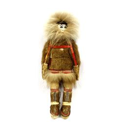 Native American Canadian Inuit Doll