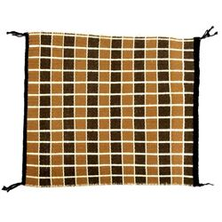 Native American Navajo Checkerboard Saddle Blanket