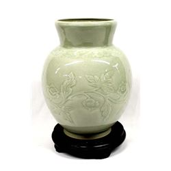 Celadon Pottery Jar made in Thailand