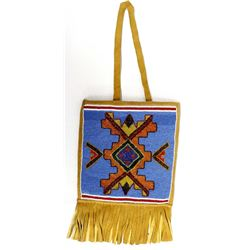 Native American Handcrafted Beaded Bag