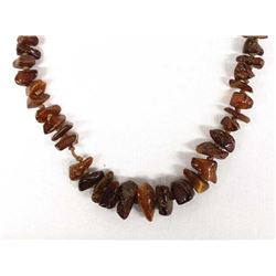 Genuine Natural Amber Bead Necklace