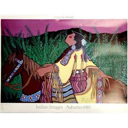 1983 Virginia A. Stroud Signed Print