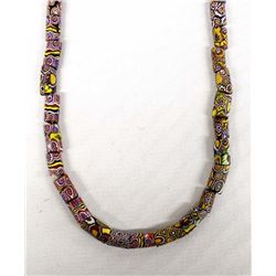 Hand Crafted African Trade Bead Necklace