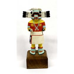 Native American Hunter Kachina, Robert Quotskuyva