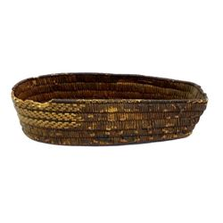Vintage Native American Thompson River Basket