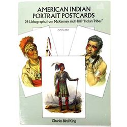 American Indian Portrait Postcards, Softback Book