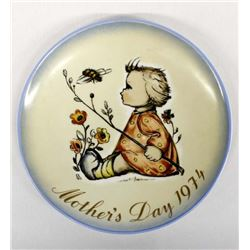 1974 Limited Edition Hummel Mother's Day Plate