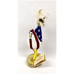 Navajo Carved Wood Folk Art Chicken by Watchman