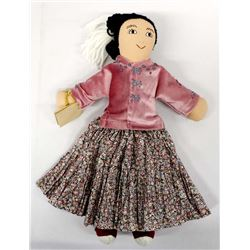 Traditional Navajo Cloth Doll by Diane Platero