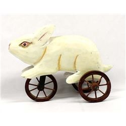 Carved Wood Rabbit