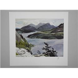 A.J.Casson (1898 - 1992) Litho 'Frood Lake' Casson