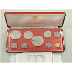 1975 Proof Set Bahamas Mint.