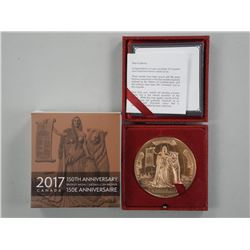 2017 Canada 150th Anniversary Bronze Medal Limited
