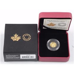 RCM .9999 Fine Pure Gold 50 Cent - Lobster
