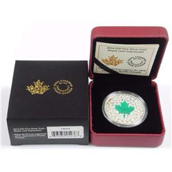 2014 $20 Fine Silver Coin - Maple Leaf Impression