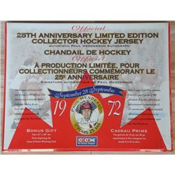 Paul Henderson 25th Anniversary Limited Edition Co