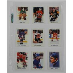 9x O-Pee-Chee Hockey Cards. Includes Key Players.