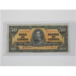 1937 Bank of Canada $50.00 G/T.