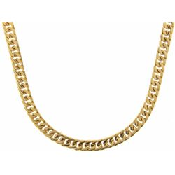 """24"""" 24k Gold Plated Heavy Link Chain (022) 18/10"""