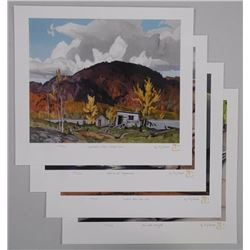 A.J. Casson (1898 - 1992) A Moment in Time Folio 4