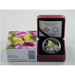 2015 - $20.00 Fine Silver Coin 'Butterflies of Can