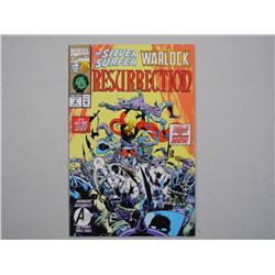 """Marvel Collection Comic """"Silver Surfer Warlock""""."""