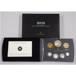 2013 - .9999 Fine Silver Proof Mint Coin Set 1st Y