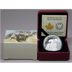 RCM .9999 Fine Silver $20.00 Coin 'Legends of Nana