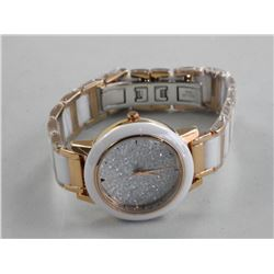 Ladies - Custom Watch, Face Hand Set with Swarovsk