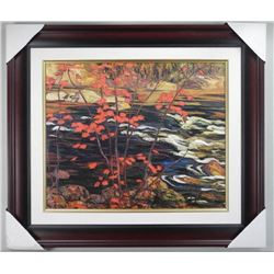 A.Y. Jackson - Studio Litho Panel 'The Red Maple'