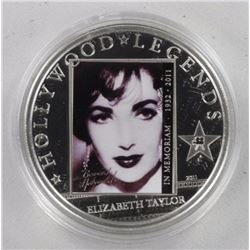 'Elizabeth Taylor' Hollywood Legend .925 Sterling
