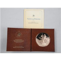 Victory at Princeton - Proof Solid Bronze Medal Le