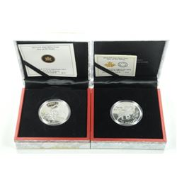 2x RCM - Lunar Coins .9999 Fine Silver Year of The
