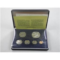 British Virgin Islands Proof Coin Set.