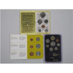 3x Mint Coin Sets Singapore - Iceland - Swiss.