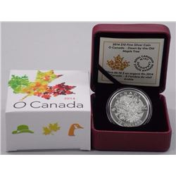 2014 - $10 Down by Maple Tree .9999 Fine Silver.