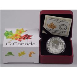 $10 - 2014 Silver Skiing Canada's Slopes .9999 Fine Silver.