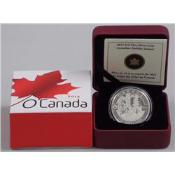 $10 - 2013 Holiday Season - Can. .9999 Fine Silver.