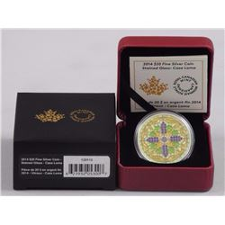 2014 $20 Fine Silver Coin - Stained Glass: Casa Loma.