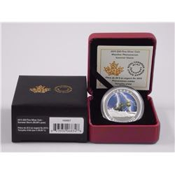RCM Summer Storm .9999 Fine Silver Coin. Sold Out, Includes RCM LED Light.