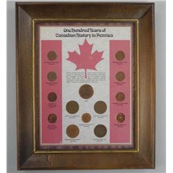 One Hundred Years of Canadian History in Pennies F