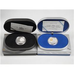 2x 925 Sterling Silver Proof $20.00 Coins - 'Marco