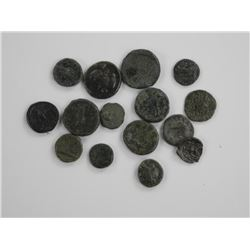 15x Ancient Roman Coins Up to 2000 Year Old.