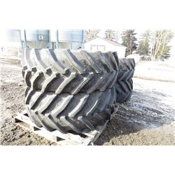 2014 JOHN DEERE TIRES AND WHEELS (X4)